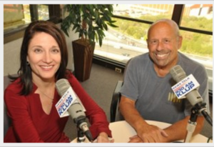 Caregiver SOS Radio Hosts Carol Zernail and Ron Aaron