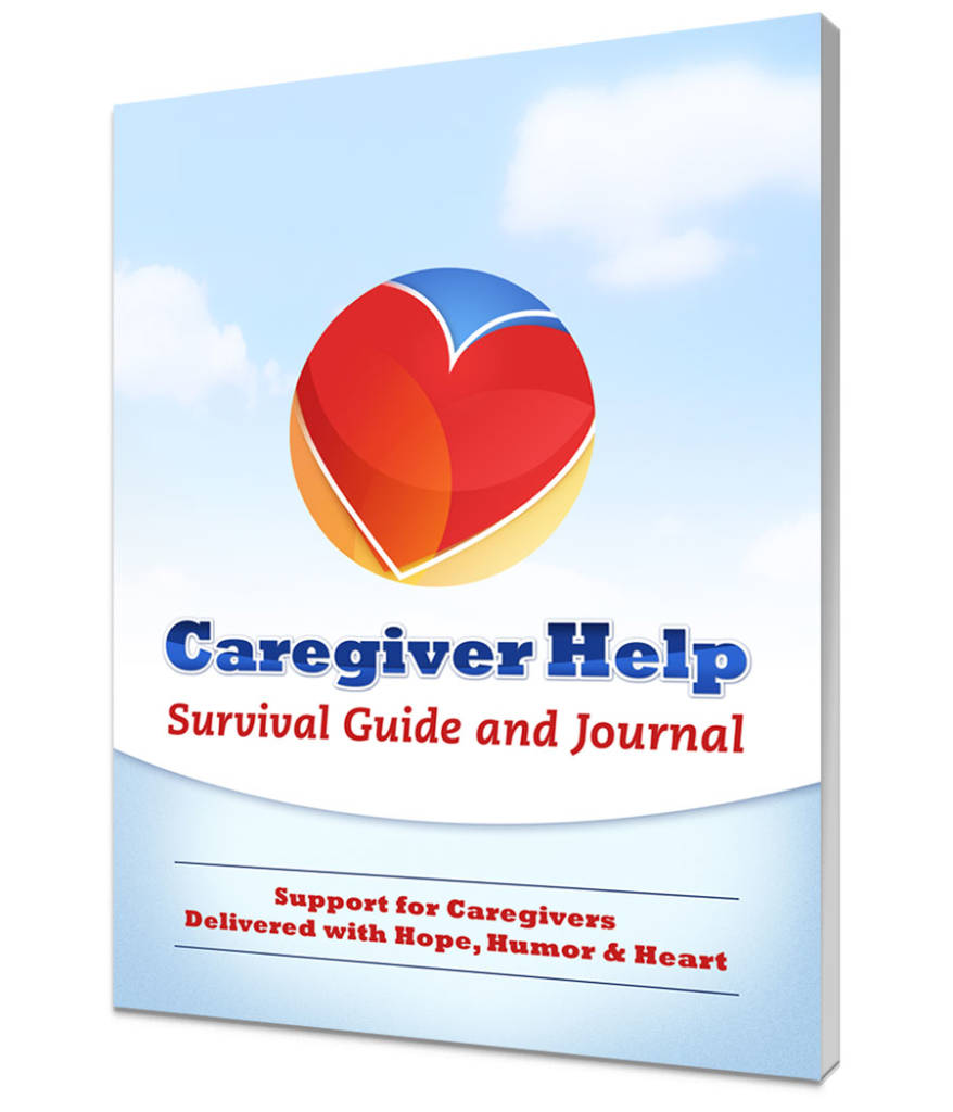 Caregiver Help 28 page Workbook and Journal