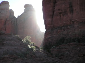 caregiver stress meditative photo from sedona